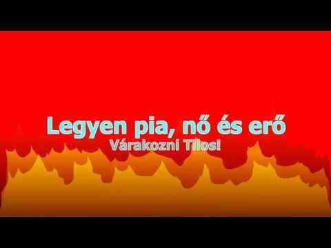 Várakozni Tilos! - Legyen pia, nő és erő (Official Lyrics Video)