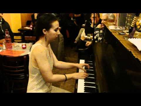 Tania Stavreva at Fez Art Cafe - Variations on a Bulgarian Folk