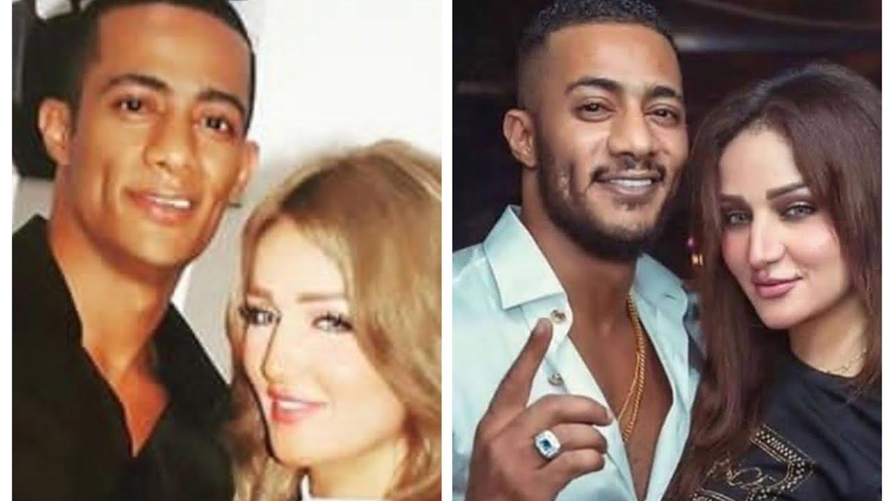 الفنان محمد رمضان وزوجته 💞🌹💋 - YouTube