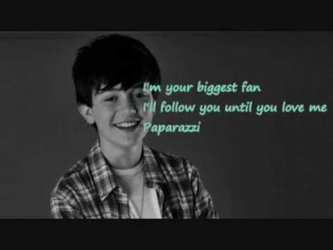 Greyson Chance - Paparazzi lyrics