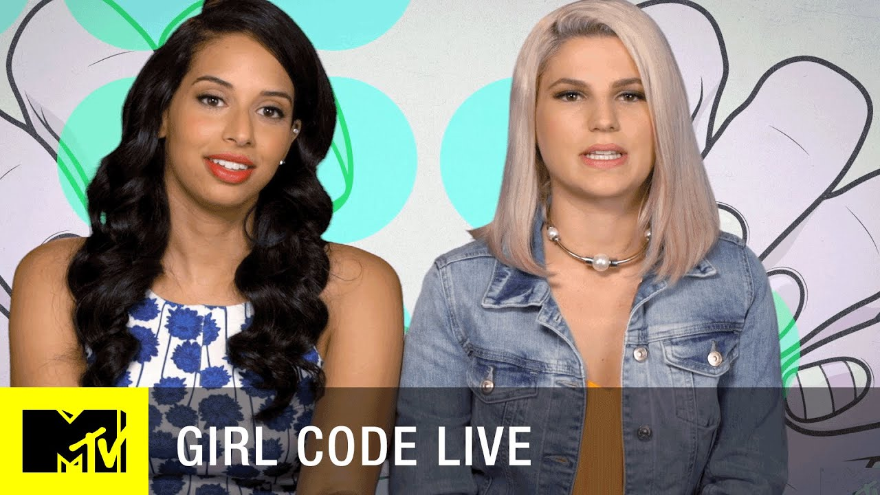 Who is the redhead from girl code dating