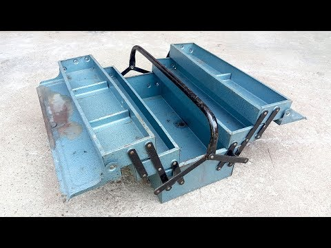 Restore Old Steel Tool Box