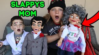 SLAPPYS MOM IS HERE! WHAT'S INSIDE SLAPPYS MOMS PURSE! ATTACK OF THE VILLAINS!