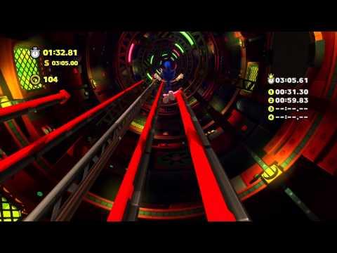 Sonic Lost World - Wii U - Tropical Coast Zone 3