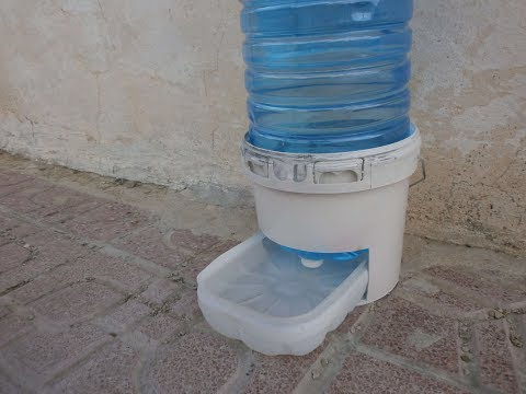 How to Make diy automatic water bowl for your pet dog/cat