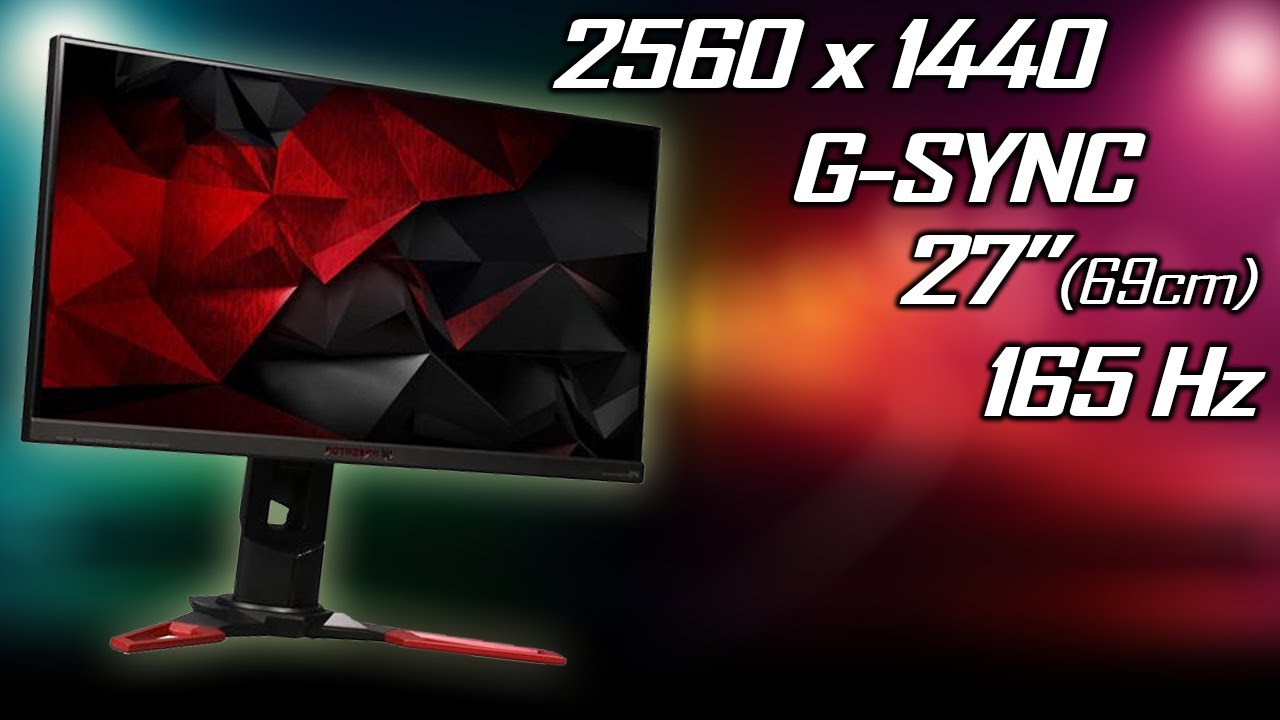 Acer Predator XB271HU/XB1 - 1440p, 165Hz, G-SYNC, IPS [Unboxing, Assembly,  Review]