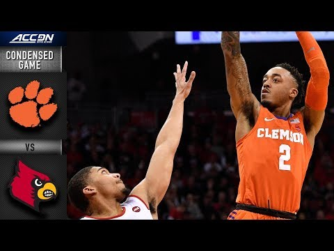 Louisville vs. Clemson Condensed Game | 2018-19 ACC Basketball