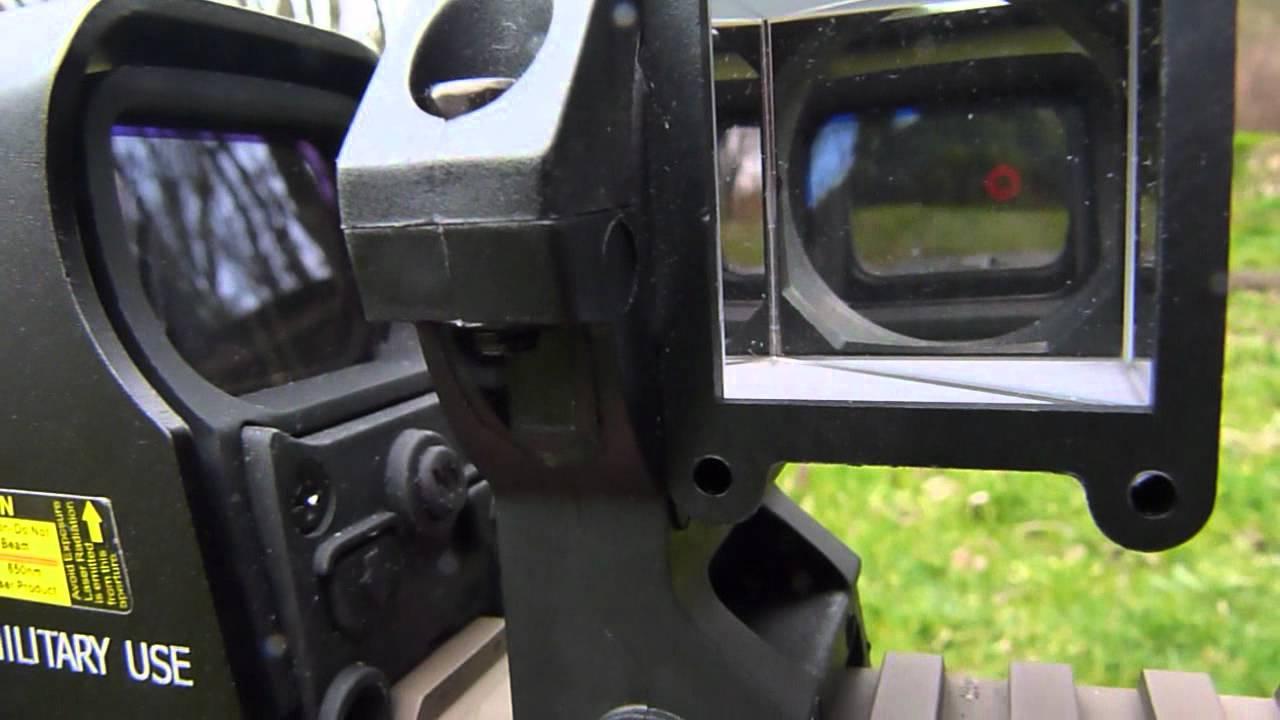 Shooting Around Corners: Accutact Anglesight - YouTube