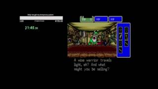 Shining in the Darkness Speedrun 2 Segments WR 8:06:46.71