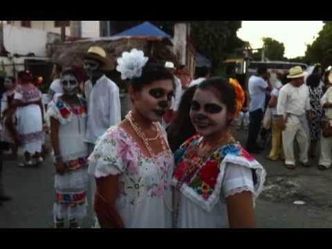 Hanal Pixan--Day of the Dead--Merida,...