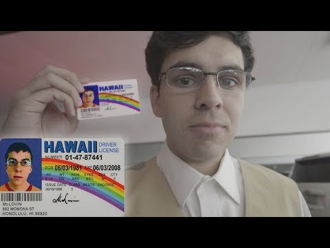 Buying Liquor with McLovin' Fake ID