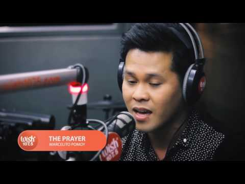 The Prayer Celine Dion And Andrea Bocelli Song Cover By: Marcelito Pomoy Sings  On Wish 107 5