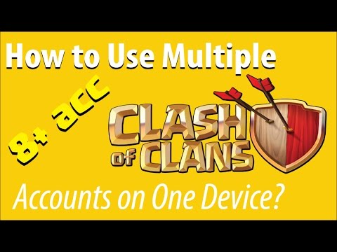 How to Use Two Clash of Clans Accounts on One Device?