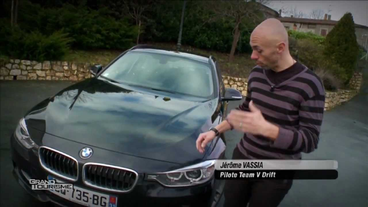 bmw 330d touring essai sur route youtube. Black Bedroom Furniture Sets. Home Design Ideas