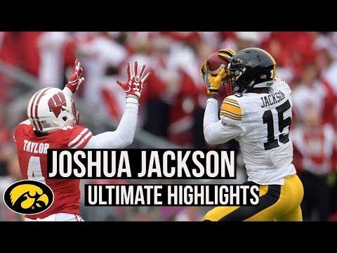 Joshua Jackson  Iowa Cornerback  Ultimate Highlights
