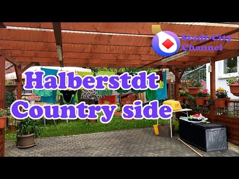 Halberstadt Country Side and Dom - Germany Village Video - Stadt-City Channel