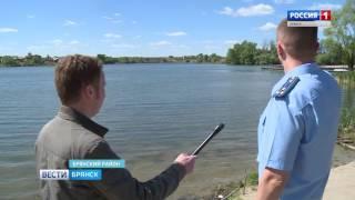 Захват озера в Тешеничах
