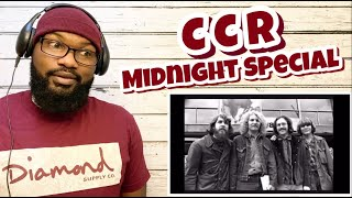 Creedence Clearwater Revival - Midnight Special   REACTION
