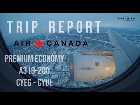 Trip Report | Air Canada A319 Premium Econmony Edmonton To Montreal