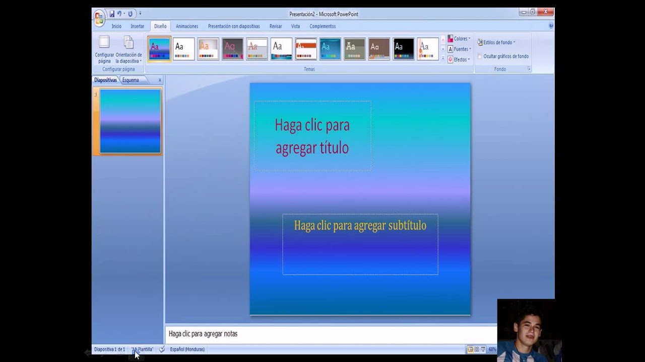 Tutorial para Crear Plantillas en Power Point - YouTube
