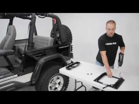 Corbeau Seats Jeep Wrangler Adapter Bracket