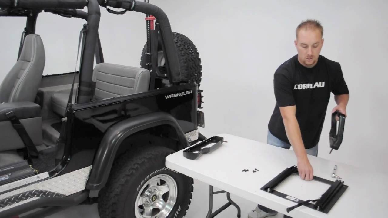 Corbeau Seats Jeep Wrangler Adapter Bracket Youtube