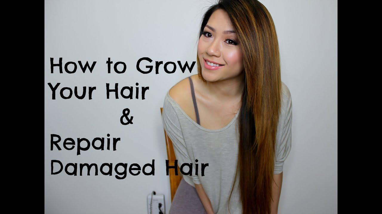 How to grow long asian hair