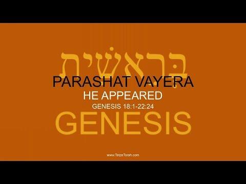 Part A) Weekly Torah Portion: 04 VAYERA - HE APPEARED - GENESIS 18:1-22:24 - YouTube
