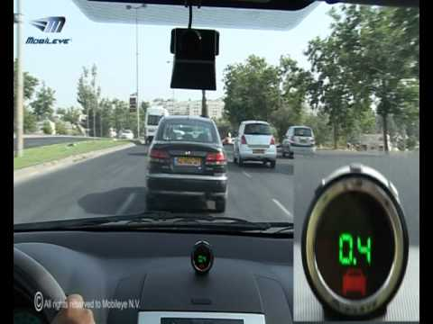 Mobileye Collision Avoidance   C2 270 in Action