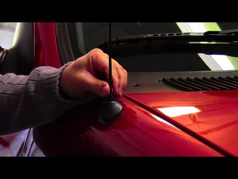 How to shorten your car antenna