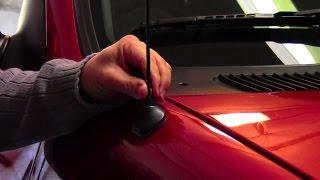 How to shorten your car antenna