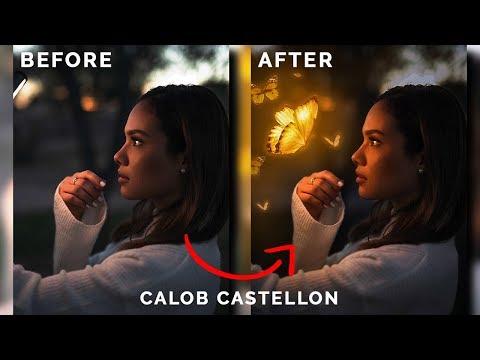 How To Glow Objects | Calob Castellon | Photoshop CC Tutorial | Step By Step | Atif Editz