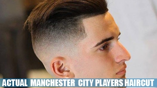 Benjamin garre actual man city player gets a high skin fade, slik back all lined up by alejo. fade on the bottom, number 0´5 to 3´ sides and 3 to...