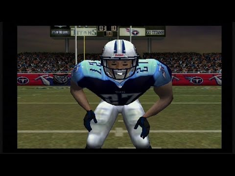 MADDEN 2004 GAMEPLAY PS2: colts vs titans #TBT Eddie George is a Beast