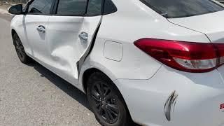 Phục hồi vết móp trên thân xe