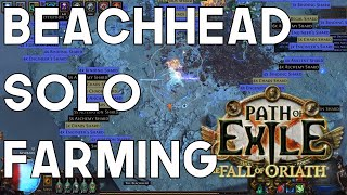 Path of Exile: Is Soloing T15 Beachheads Sustainable or Even Profitable?