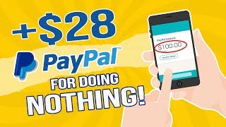 Earn $28+ FREE Paypal Money For Just Doing Nothing (EASY Passive Income)