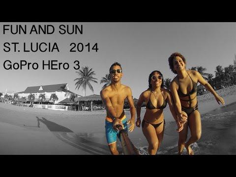 GoPro Hero 3: Fun and Sun - St. Lucia 2014 - HD (Overwerk- Daybreak)