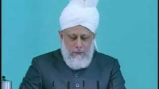 Friday Sermon: 11th June 2010 - Part 8 (Urdu)