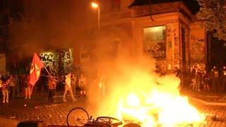 Mayhem as German police battle protesters outside G20 summit