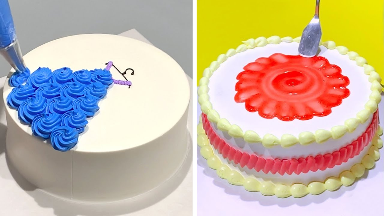 10+ So Yummy Cake Decorating Tutorials Compilation | Most Satisfying Cake Decorating Ideas Video