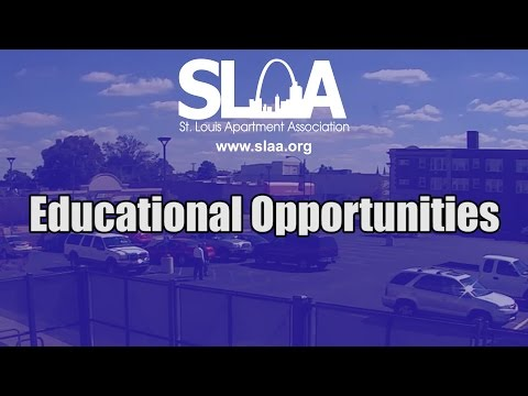 St. Louis Apartment Association Education Opportunities