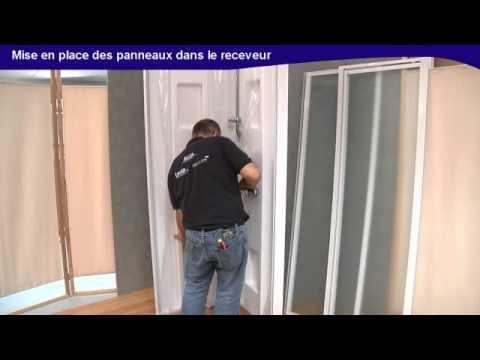 Video de montage simple et rapide d 39 une cabine de douche izibox de leda youtube - Montage cabine de douche ...