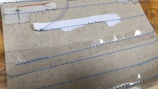清秀佳人布坊 - 手作教學 - 車防水布方法 - 基本縫紉小技巧系列五