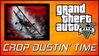 GTA 5 Online | Tonksi and Nightmare Pilot Challenge #10 - Crop Duster Attack!