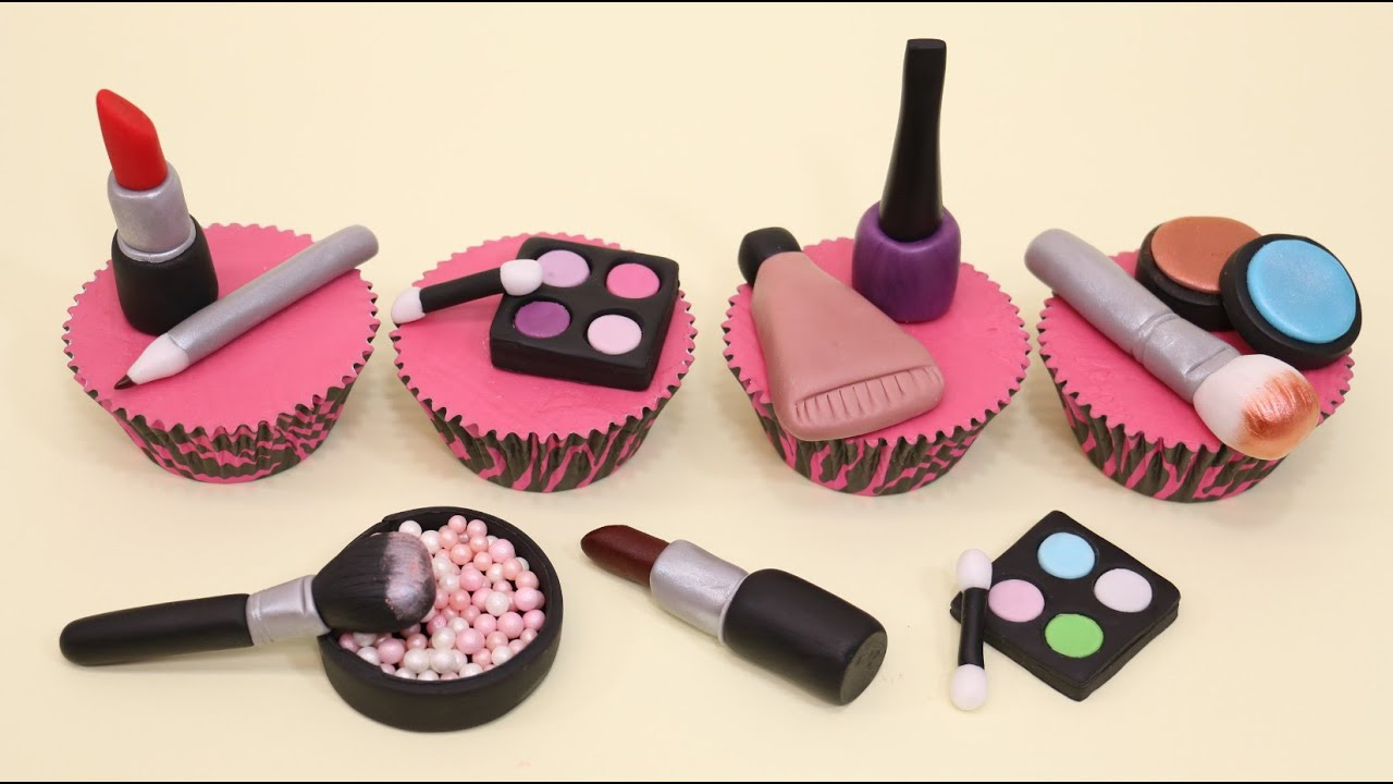 Makeup Party Cake Ideas