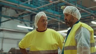 Visita fábrica Campos Bermeo - Martín Berasategui y David de Jorge