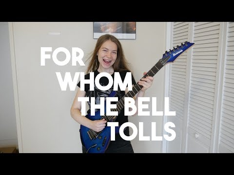 For Whom The Bell Tolls - Metallica (Guitar Cover)