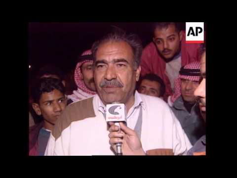 JORDAN: PRISONERS RELEASED FROM IRAQ ARRIVE HOME