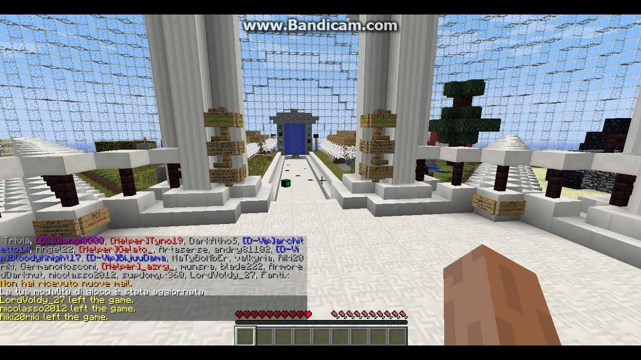 Far entrare gente nel server - Forum - Minecraft ITALIA